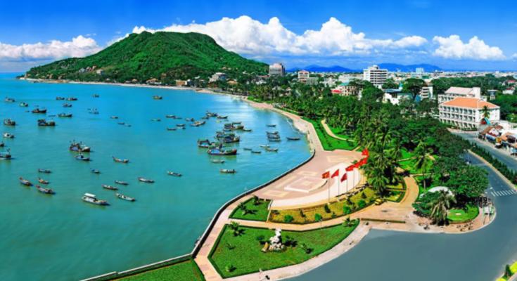 Khung cảnh đẹp tuyệt vời tại Bãi Trước - Vũng Tàu