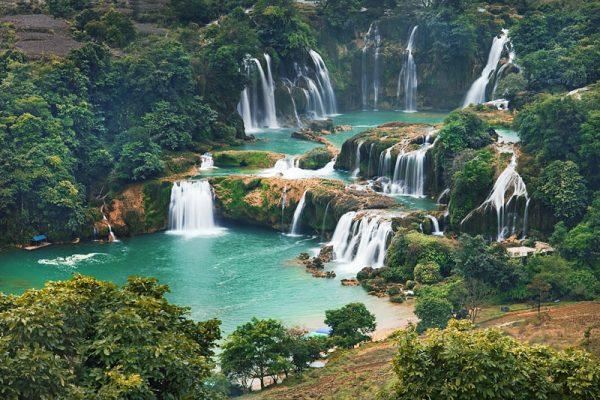 Bản đồ du lịch các tỉnh Tây Nguyên Việt Nam mới nhất 2019